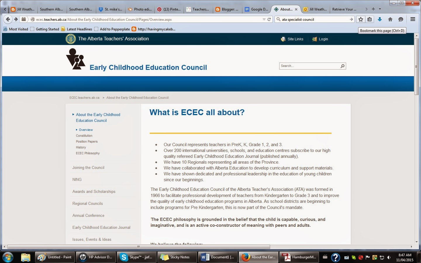 http://ecec.teachers.ab.ca/About%20the%20Early%20Childhood%20Education%20Council/Pages/Overview.aspx