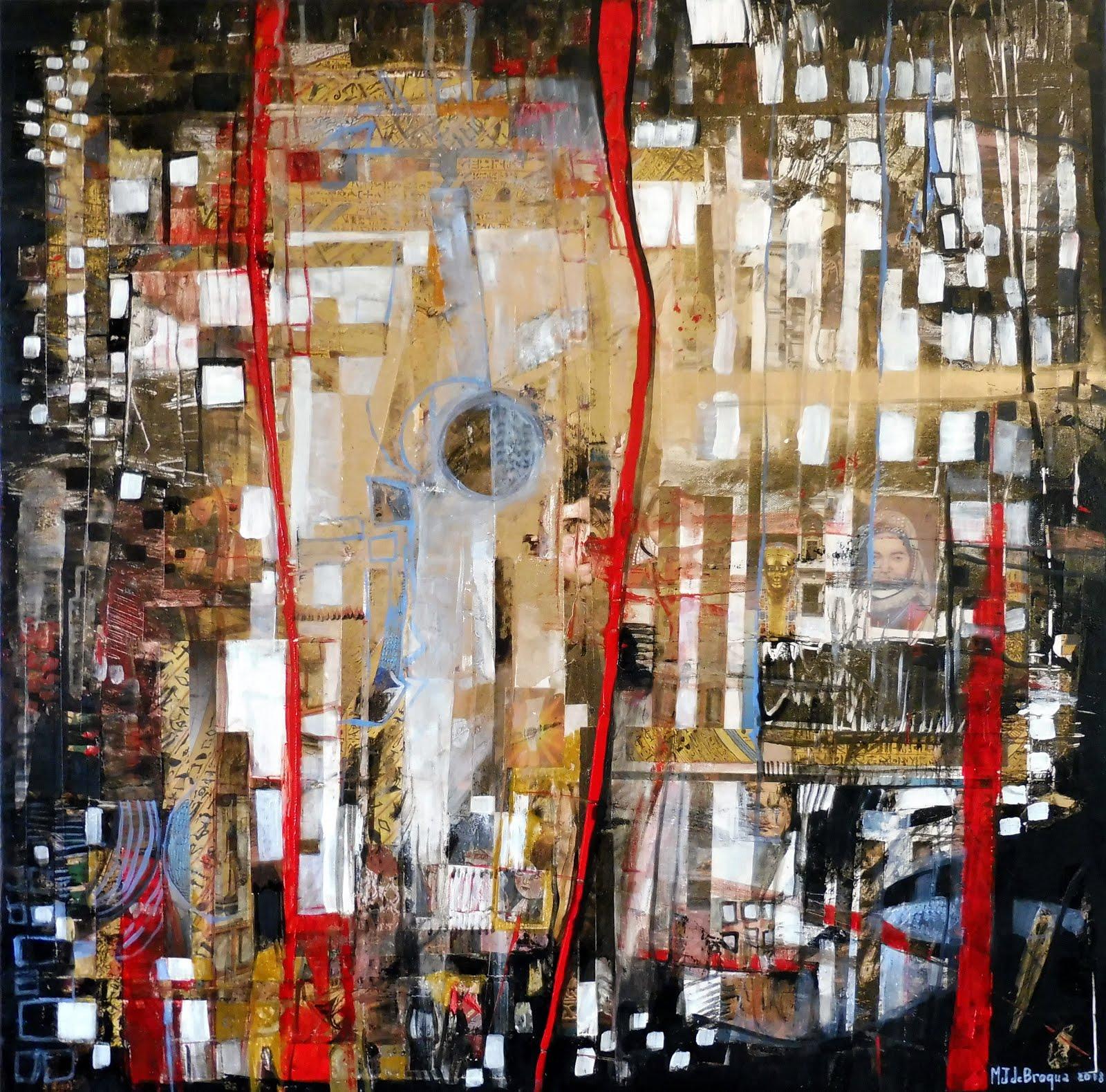 Renaissances - 80 x 80 cm - 2018