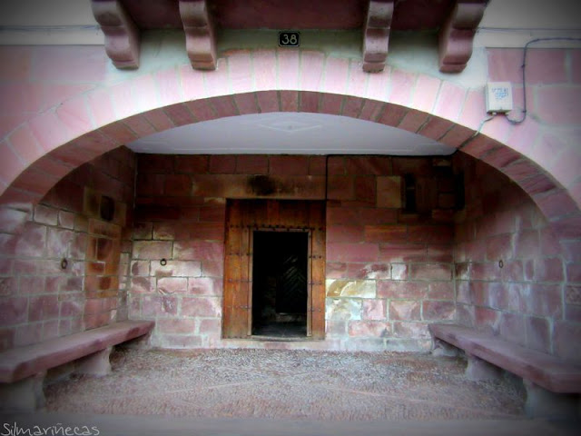 Casa de tía Engrasi - Txarrenea - nº 38 de Braulio Iriarte - Elizondo - Navarra