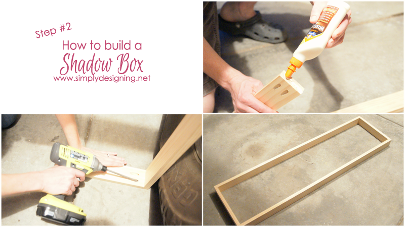 How to Build a Shadow Box | this project is is sooooooo cool!!  | #diy #organization #jewelry #homeimprovement #homedecor #spon