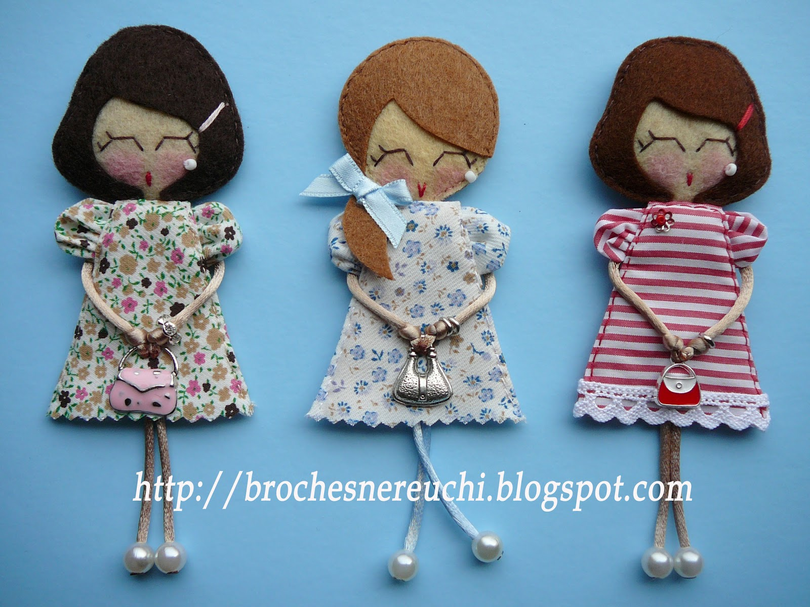 Куколка - брелок своими руками