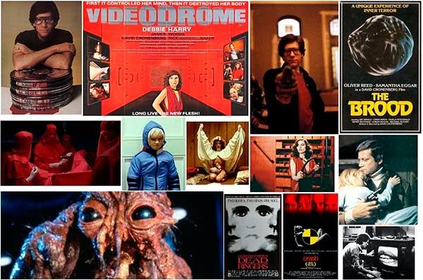 Algunos de los films mas destacados de Cronemberg