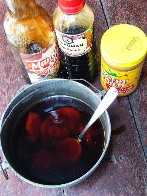 peanut sauce recipe, vegetable peanut sauce recipe, lumpia sauce, peanut sauce, savory peanut sauce