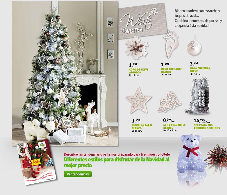 El blog de la navidad los arboles de leroy merlin for Arbol navidad leroy