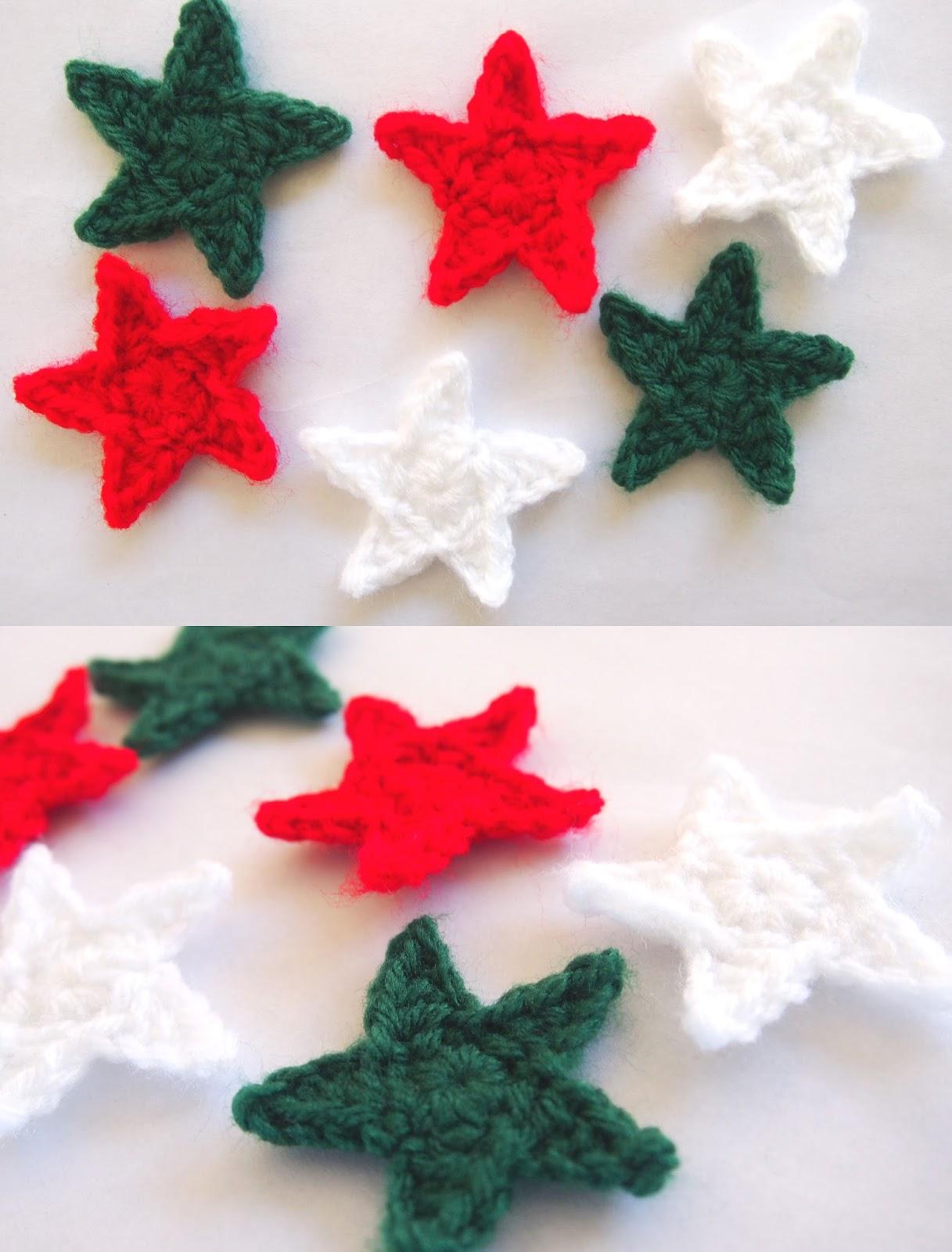 sol de noche deco crochet crochet twinkling star free. Black Bedroom Furniture Sets. Home Design Ideas