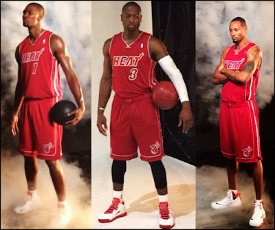 New Heat Uniforms Unveiled (Red Alternate)