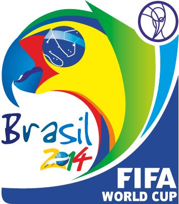 Logo oficial Brasil 2014 Fifa - Vector