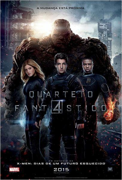 Download Quarteto Fantástico Dublado (2015)