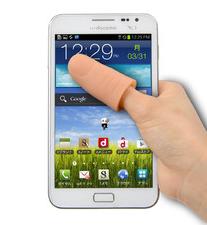 Thumb Stylus: Jempol Palsu Bantu Pengguna Menelusuri Layar Smartphone Besar