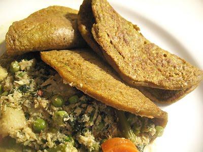 Mung Bean Pancakes (Chila) | Lisa's Kitchen | Vegetarian Recipes ...