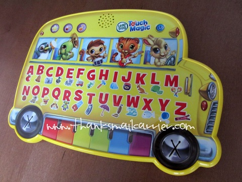 LeapFrog Touch Magic Learning Bus review