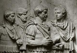 Legioniści rzymski z kolumny trojańskiej