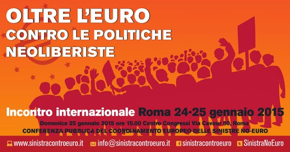 25 gennaio ore 15:00 - CENTRO CONGRESSI - Via Cavour 50 - ROMA