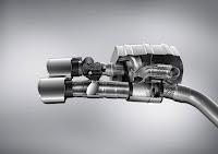 Sportabgasanlage mit integrierten Abgasklappen sports exhaust system with integrated exhaust flaps