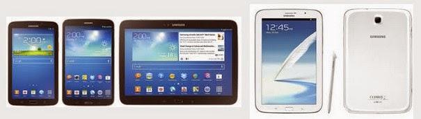 Macam-macam dan Harga Samsung Galaxy iPad Samsung Galxy,samsung galaksi, samsung galaxi