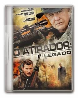 O Atirador: Legado   DVDRip AVI Dual Áudio + RMVB Dublado