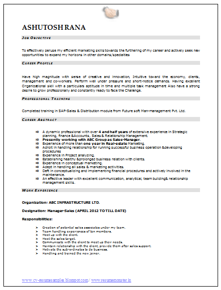 over 10000 cv and resume samples with free download download mba marketing resume sample