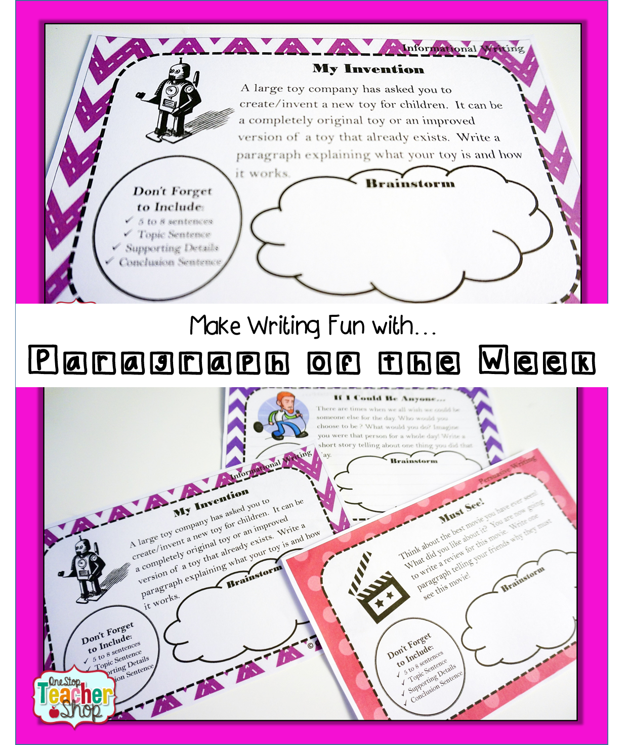 Here are some writing tips, ideas, and activities to make writing fun. Grab the free writing prompts while you are there.