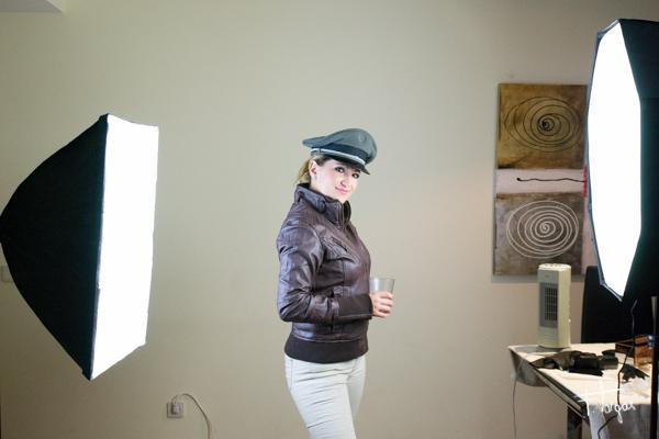 Esquema de iluminación aviator girl