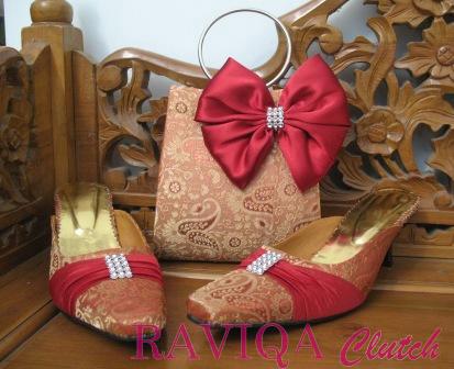 Tas Pesta/Clutch Bag ♥RAVIQA♥: ♥ SET - Tas & Sandal Pesta ...