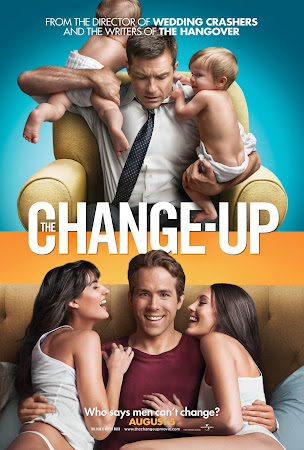 Poster Of Free Download The Change-Up 2011 300MB Full Movie Hindi Dubbed 720P Bluray HD HEVC Small Size Pc Movie Only At worldfree4u.com