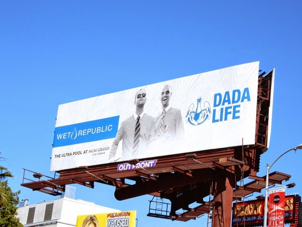 Dada Life Wet Republic MGM Grand Las Vegas billboard