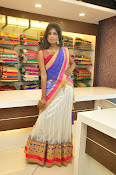 Mounika Reddy Glam pics in Half saree-thumbnail-11