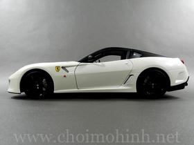 Xe mô hình tĩnh Ferrari 599 GTO hiệu Hot Wheels tỉ lệ 1:18