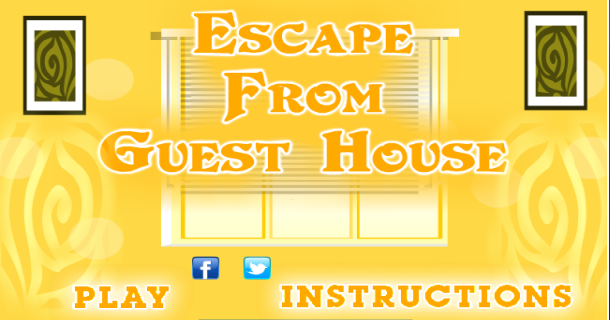 Game walkthrough data base escape from guest house for Minimalist house escape 3 walkthrough