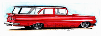 Chevy Impala Wagon 1959 by Dr.Octane