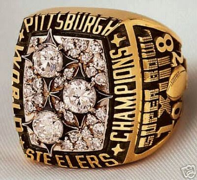 Steelers 3rd Super Bowl Ring