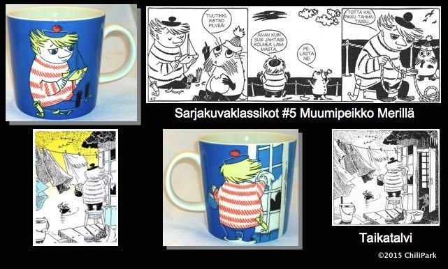 Muumimuki, Moomin mug