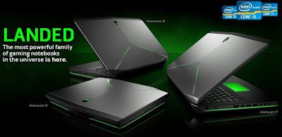 Dell Alienware Terbaru dengan Haswell dan GeForce GTX 700M Series