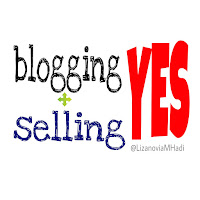 blogging + selling