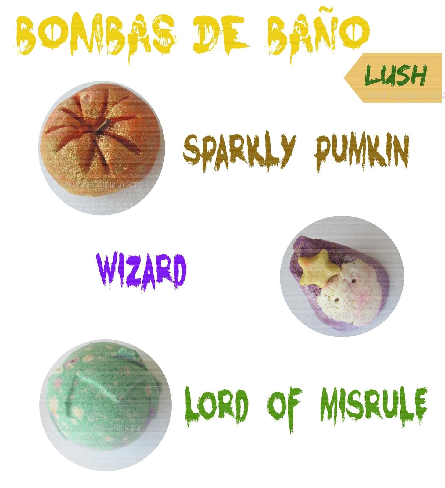 Bombas de Baño de Lush - Edición Limitada de Halloween