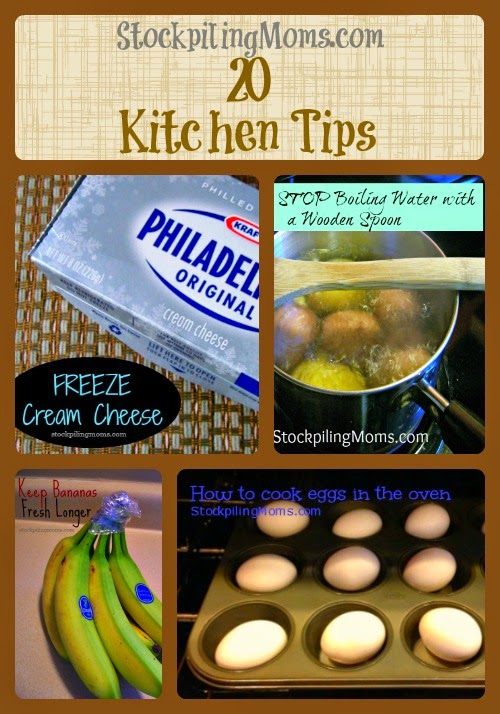 20 Kitchen Tips & Tricks
