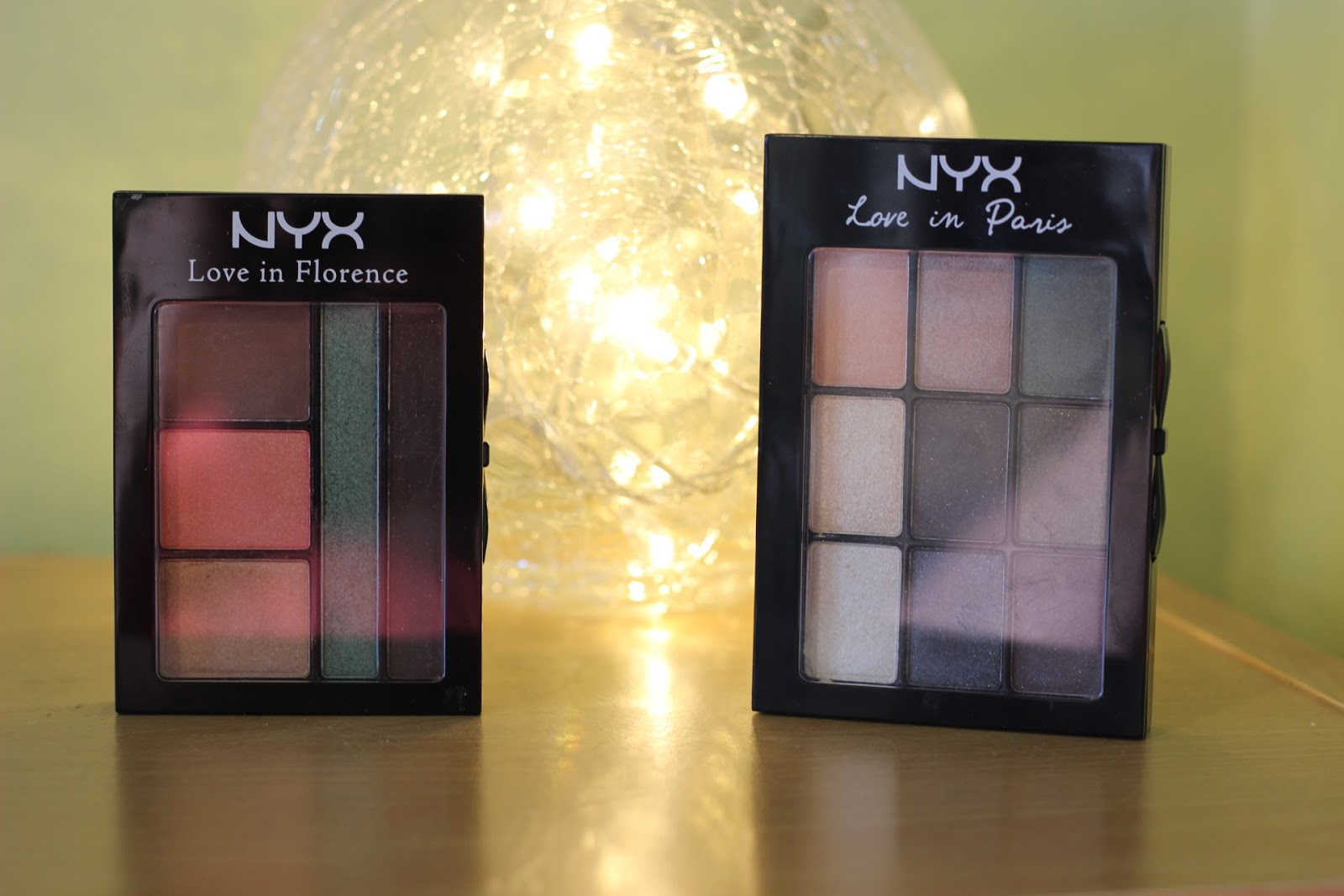 NYX 'Love In' Palettes