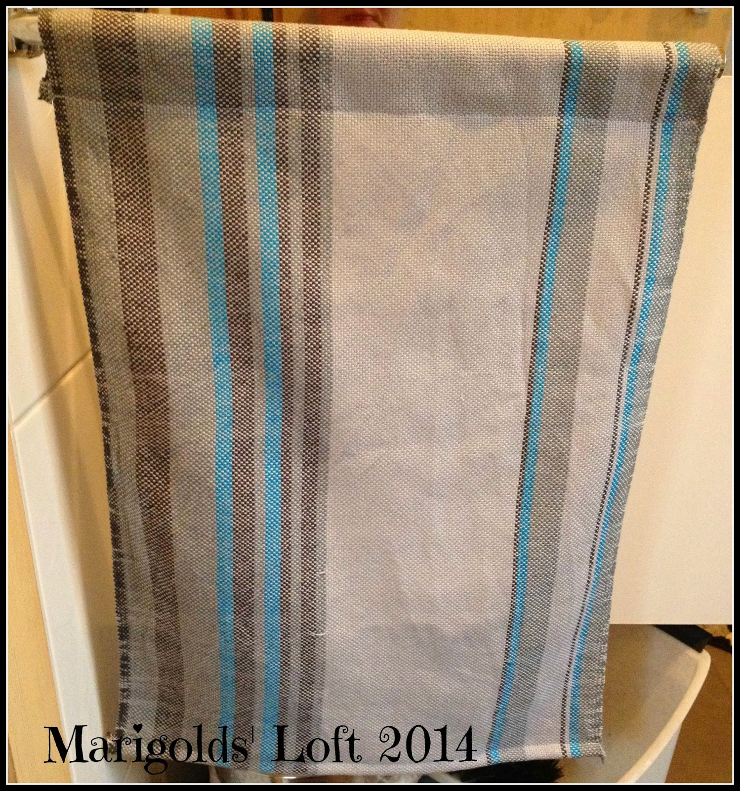 woven hand towel