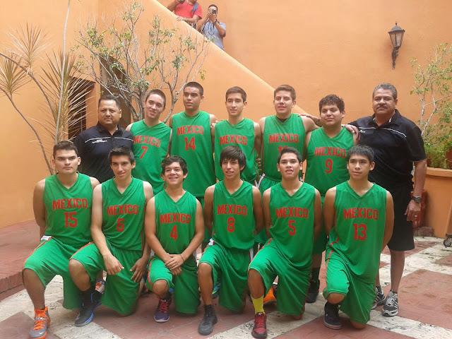 La selección de Sonora que participó en la Copa del Caribe 2013