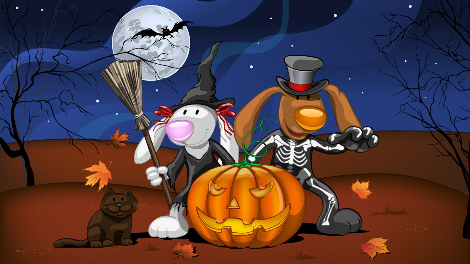 Happy halloween wallpapers funny halloween wallpapers - Imagenes de halloween ...