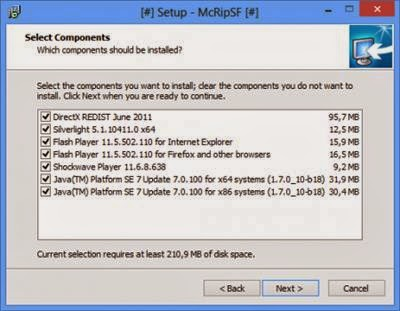 Mcrip System Files
