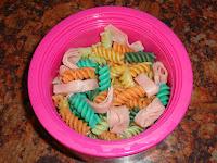 Top Ender's Rainbow Pasta