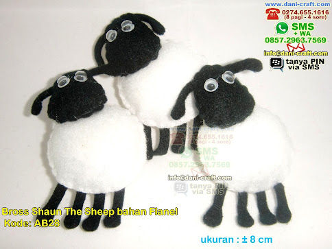 Bross Shaun The Sheep bahan Flanel