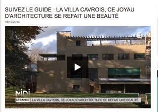 La Villa Cavrois se refait une beauté