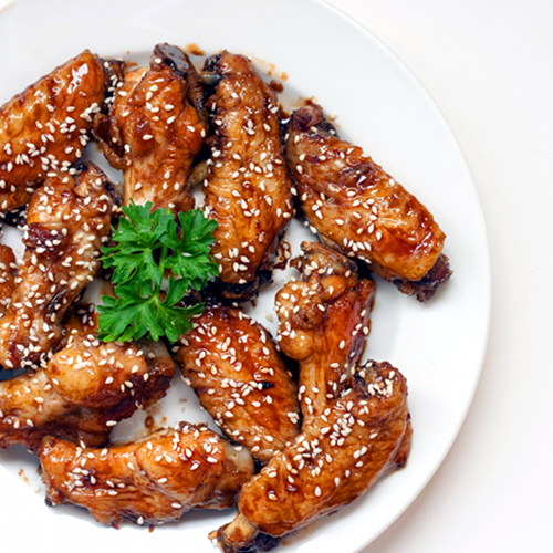 Red Shallot Kitchen: Sweet Soy and Ginger Glazed Chicken Wings