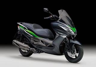 Kawasaki J300 2014, el scooter de Kawasaki