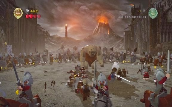 Gameplay LEGO The Lord of the Rings