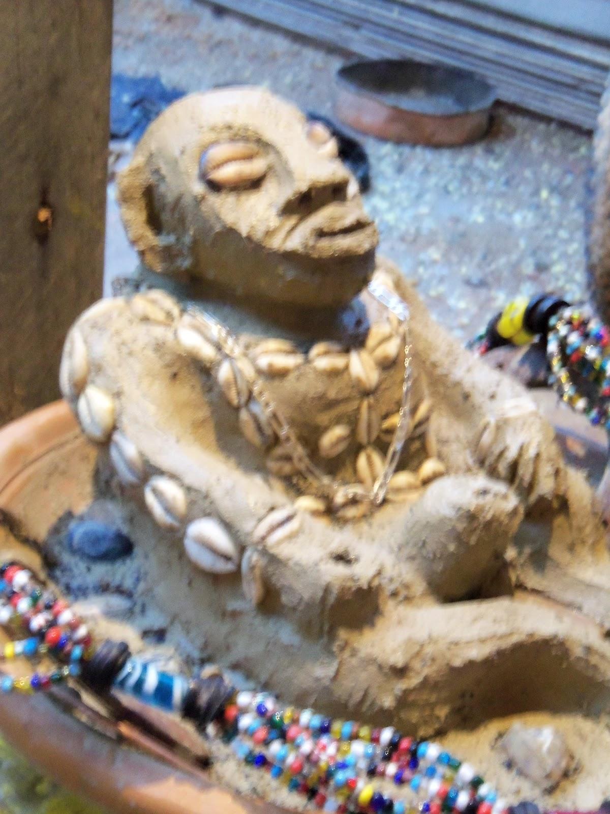 Minhas Criações de Imagens Africana de Argila