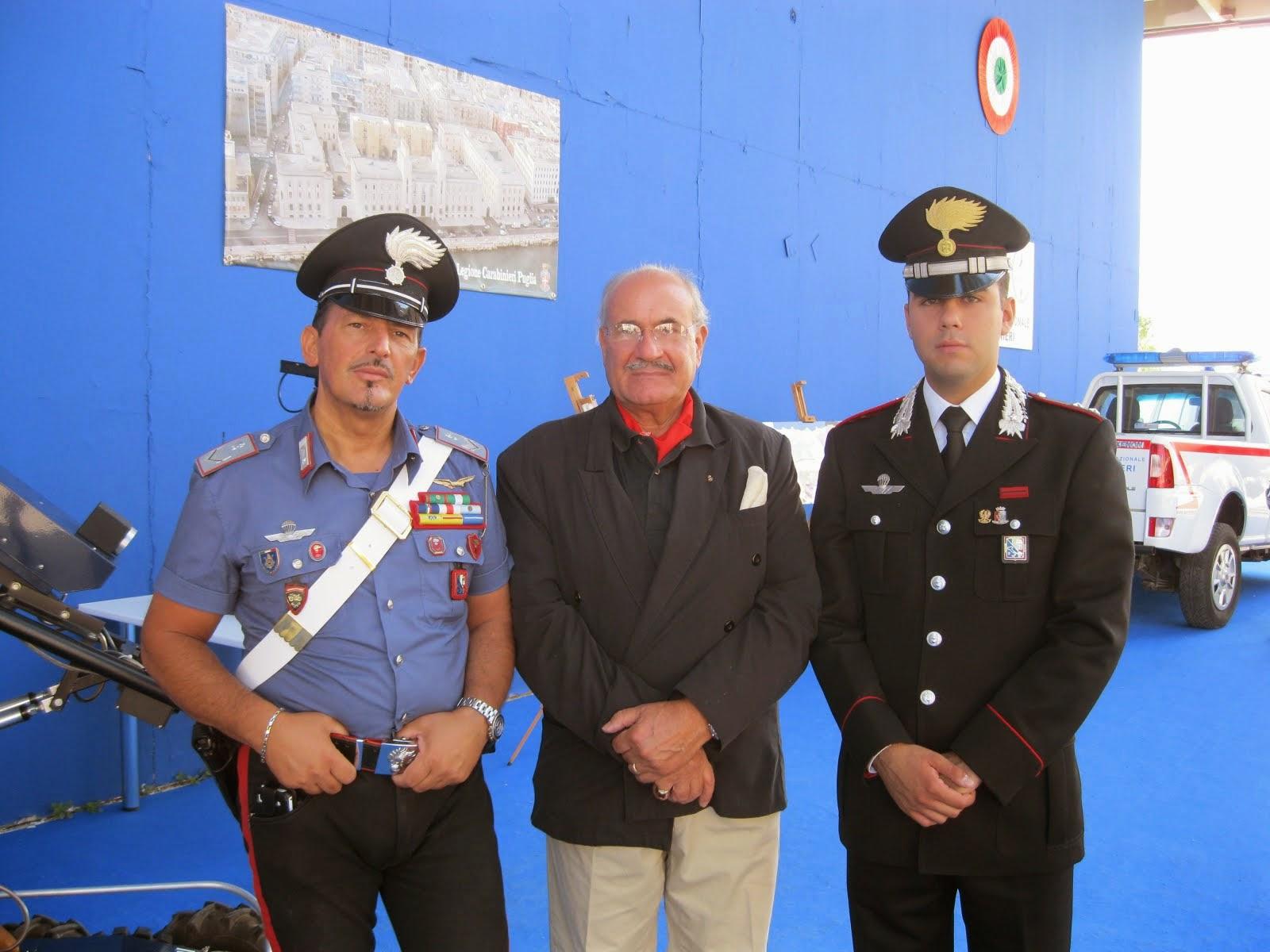 Il padiglione dei Carabinieri in Fiera