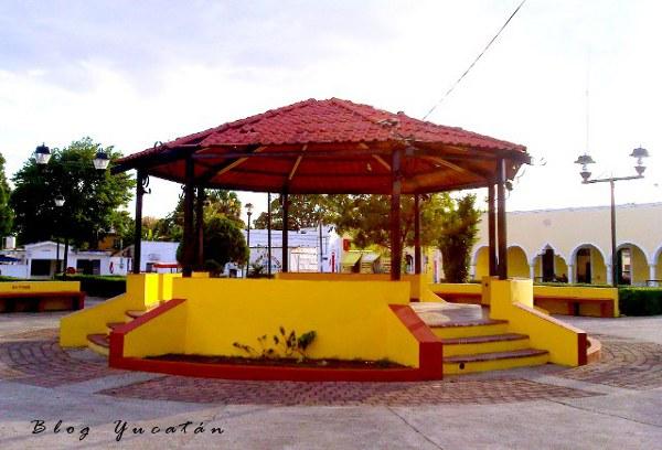 Kiosco conkal yucatan mexico
